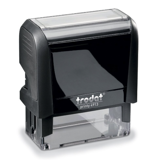 Customized self-inking stamp