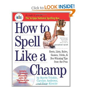 How to spell like a champ book cover